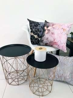 (PROMO PRICE)READY STOCK SIDE TABLE , PILLOW