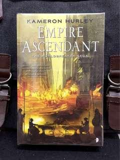 # Novel《BRAN-NEW + An Unapologetic & Fearless Story of Fantasy Thriller Fiction》Kameron Hurley - EMPIRE ASCENDANT : The Worldbreaker Saga