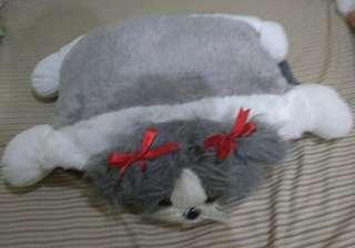 Cute Shi Tzu Convertible Pillow Stuffed Toy