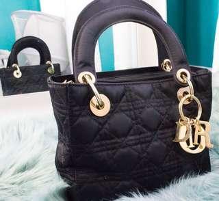 Lady Dior Inspired Mini Bag