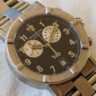 Swiss Made RAYMOND WEIL chronograph quartz watch (瑞士製雷達威計時石英手錶)
