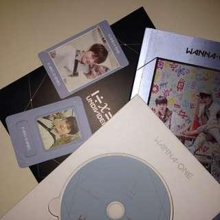Full Set Wanna One Kang Daniel Undivided Triple Position Album