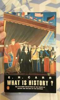 What is History? by E.H. Carr
