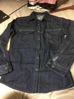 Denim t-shirt size S