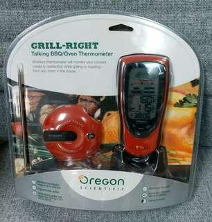 Grill Right Talking BBQ/Oven Thermometer