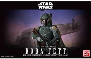 Bandai 1/12 Stars Wars Boba Fett