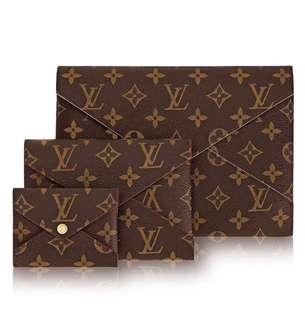 💖NEW💖Lv Pochette Kirigami Monogramme 3in1 Rose Pink Individual