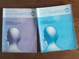 Discovering Maths 2A/2B (2nd Ed)