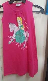 Play zone brand pink girl dress