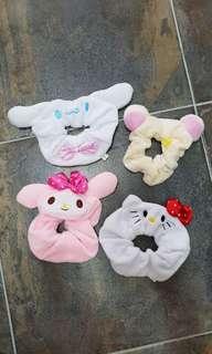 Sold! Sanrio Hair ties Hello Kitty My Melody Rilakuma etc