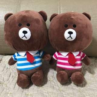 LINE Bears (Price for 2)