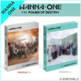 WANNA ONE - 1st Album ' POWER OF DESTINY '
