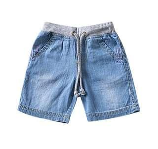 Soft Denim shorts (4-6y)