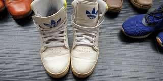 Adidas high cut sneakers