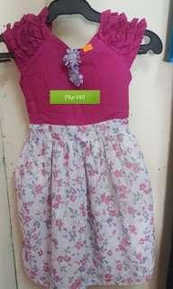 Branded girls dress