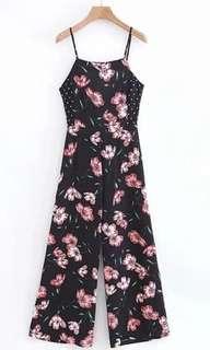 BRANDNEW Floral pompadour jumpsuit
