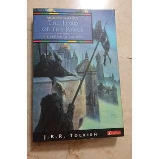 Modern Classics : The Lord Of The Rings - The Return of The King (Part Three) by J. R. R. Tolkien