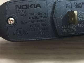 🚚 NOKIA AC-4U充電器