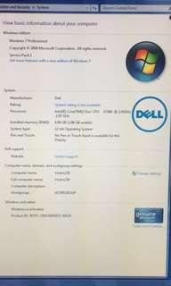 Dell Vostro CPU only