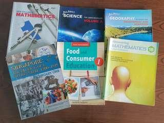 Sec 1 Textbooks