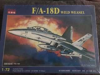 Aircraft Hobby Model Kits; F/A-18D Wild Weasel