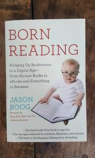 Born reading book