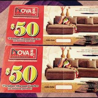 Nova Furniture Voucher