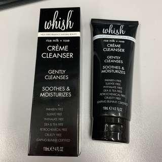 BNIB Whish Rice Milk + Rose Crème Cleanser - FREE POSTAGE