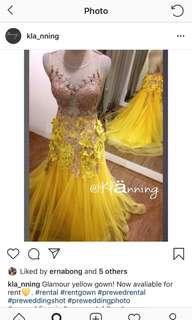 Gaun prewed gaun pesta gaun malam
