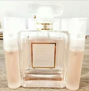 10ml Chanel Mademoiselle (rebottled/takal)