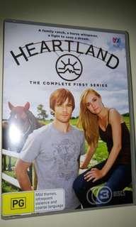 Heartland - season 1 on DVD