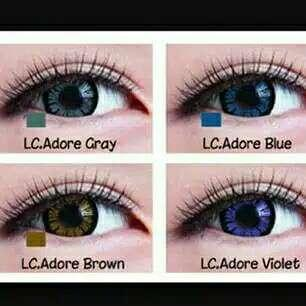 Softlens Living Color Adore Normal