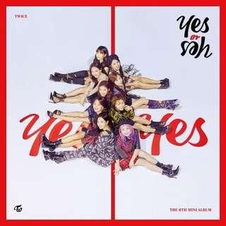 [WTB] TWICE - YES OR YES