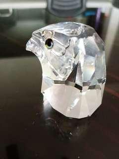Swarovski crystal - Falcon