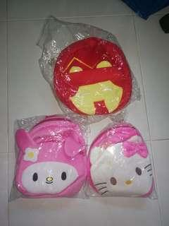 Children Bags: 3 for $15 (Hello Kitty, My Melody, Ironman)
