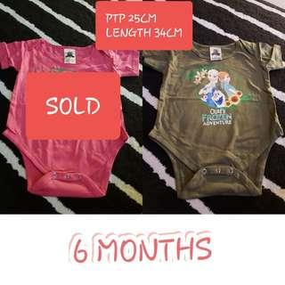 3 for $10 Instock Baby Rompers