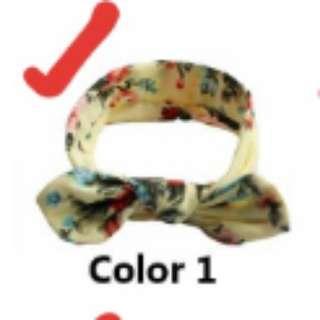 Instock 3 for $8 baby headbands