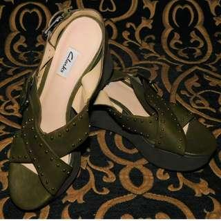 Clarks Green Wedge