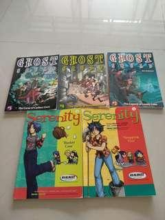 Preloved Ghost Squad storybook Serenity comics