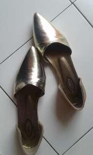Flat shoes (Rosegold)