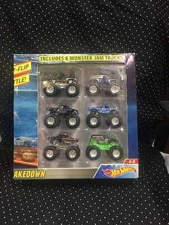 Hot Wheels 6 Monster Jam Trucks