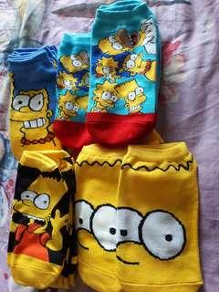 Cute The Simpsons Ankle Socks