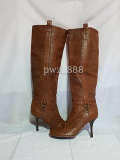 Authentic DIOR Cannage High Boots Size 38