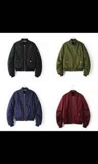 bomber jacket(army green)