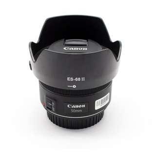 Canon EF 50mm F1.8 STM lens hood (ES-68II)
