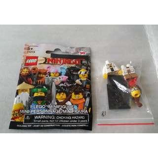 lego 71019 Minifigures NINJAGO #18 GPL Tech 連底板 說明書 包裝袋 (全新開袋確認)