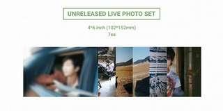 2018 BTS EXHIBITION BOOK UNRELEASED LIVE PHOTO