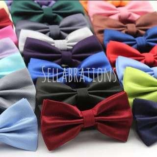 🚚 [Sellabrations] clearance Adult Bow Tie d&d wedding