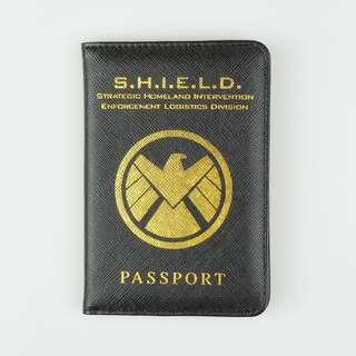 Sampul Paspor Marvel Avengers Agents of SHIELD S.H.I.E.L.D Passport Cover Case