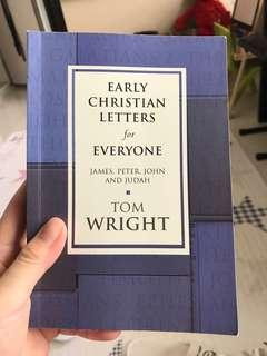 Early Christian letters for everyone - Tom Wright